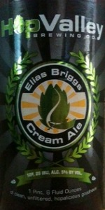 Elias Briggs Cream Ale