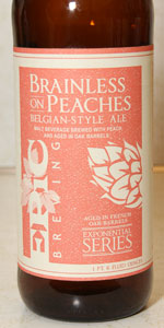 Brainless On Peaches Belgian-Style Ale