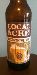 Local Acre Lager Wisconsin Wet Hop