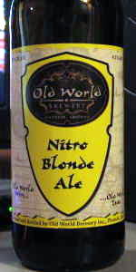 Old World Nitro Blonde