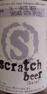 Scratch Beer 36 - Bruce Wit