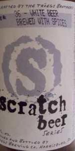 Scratch Beer 36 - Bruce Wit