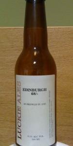 Edinburgh 68/- (8.1%)