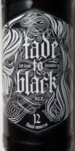 Fade To Black (Volume 2 - Smoked Baltic Porter)