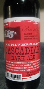 15th Anniversary Cascadian Dark Ale