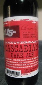 15th Anniversary Cascadian Dark Ale
