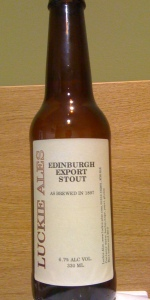 Edinburgh Export Stout