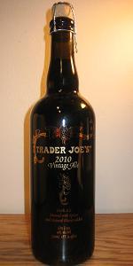 Trader Joe's 2010 Vintage Ale