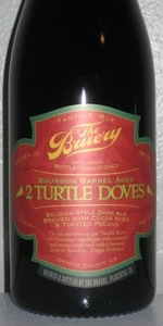 2 Turtle Doves - Barrel-Aged