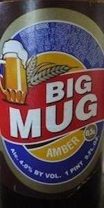 Baltika Big Mug Amber (Bolshaya Kruzhka)