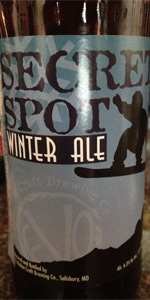 Secret Spot Winter Ale