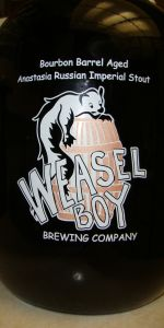 Weasel Boy Bourbon Barrel Anastasia Russian Imperial Stout