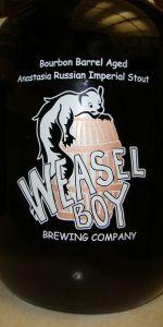 Weasel Boy Bourbon Barrel Anastasia Russian Imperial Stout