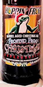 Frosted Frog Christmas Ale - Barrel-Aged