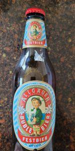 Allgäuer Büble Bier Festbier