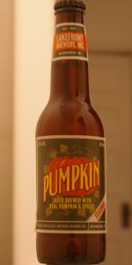 Pumpkin Lager Beer