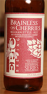 Brainless On Cherries Belgian-Style Ale (Batches 1-4)