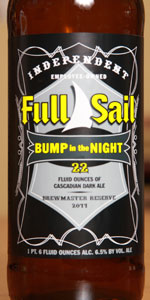 Bump In The Night (Brewmaster Reserve 2011)