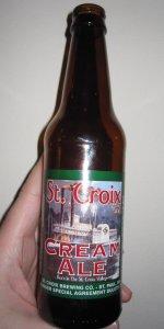 St. Croix Cream Ale