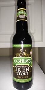 O'Shea's Traditional Irish Stout