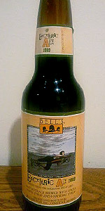 Bell's Eccentric Ale 2009 (Released 2010)