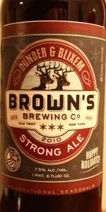 Dunder & Blixem Strong Ale