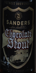 Detroit Beer Co. Sanders Chocolate Stout