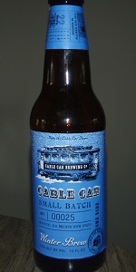 Cable Car Small Batch Winter Brew