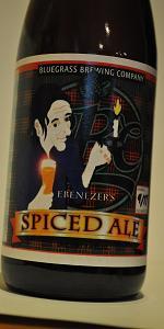 Ebenezer's Spiced Ale