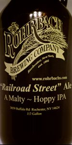 Railroad Street Ale