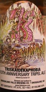 Triskaidekaphobia 13th Anniversary Tripel Ale