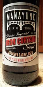 Iron Curtain Imperial Stout