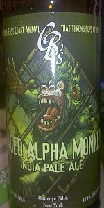 CB's Caged Alpha Monkey IPA