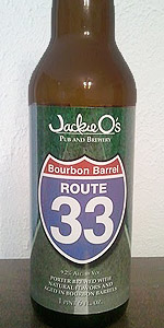 Bourbon Barrel-Aged Route 33 Collaboration Porter