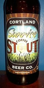 Sunrise Coffee Stout