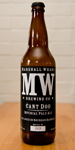 Bourbon Barrel Aged Cant Dog