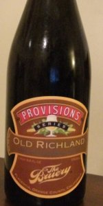 Provisions Series: Old Richland