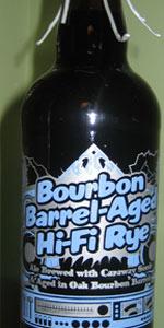 Bourbon Barrel Aged Hi-Fi Rye