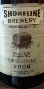 Big Bourbon Series Sum Cens Double IPA