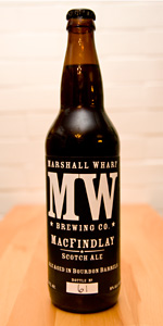 Bourbon Barrel Aged MacFindlay Scotch Ale