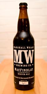 Bourbon Barrel Aged MacFindlay Scotch Ale