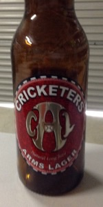 Cricketers Arms Lager