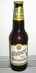 Shiner Dortmunder (Spring Ale)