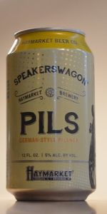 Speakerswagon Pilsner