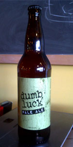 Dumb Luck Pale Ale