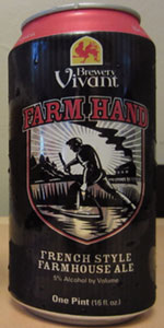 Farm Hand French Style Farmhouse Ale