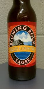 Blowing Rock High Country Lager