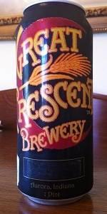 Great Crescent Bourbon's Barrel Stout