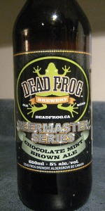 Chocolate Mint Brown Ale