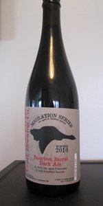 Bourbon Barrel Dark Ale (Winter Migration) 2010-2011